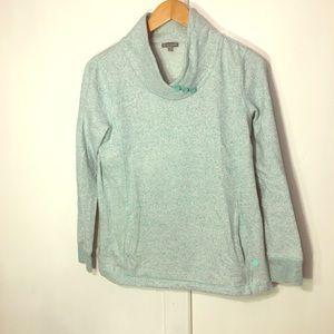 Talbots light blue sweatshirt